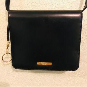Nine West square shinny cross body purse